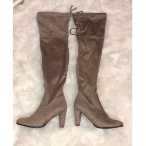 DSW Over the knee boots size 11M